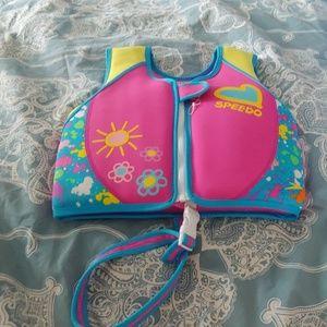Speedo life jacket girls 4-6
